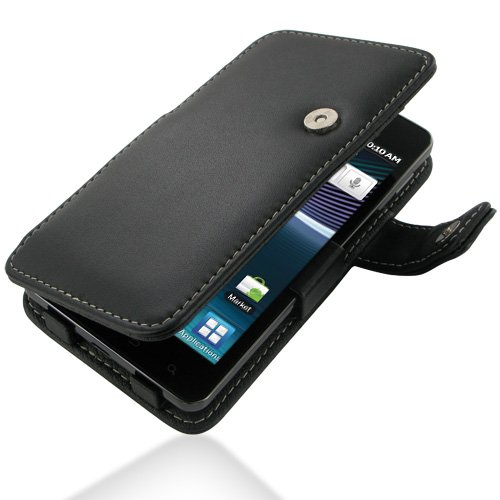 PDAIR B41 Black Leather Case for Samsung Infuse 4G SGH-i997