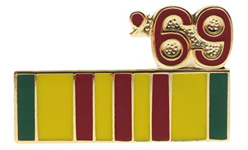 (Sujak Military Items Vietnam Service Ribbon 1969 Hat or Lapel Pin HON14797)