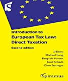 Introduction to European Tax Law: Direct Taxation, , 1907444114