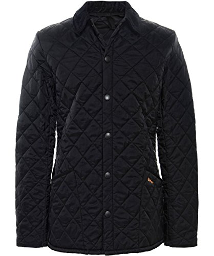 Barbour Liddesdale Classic Quilted Jacket (L, Black)
