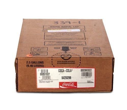 Coke Classic Soda Syrup 2.5 Gallon Bag in Box BIB