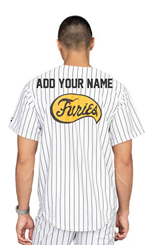 The Warriors Furies Pinstriped Baseball Jersey Costume (Personalized X-Large) ()