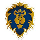 Alliance World of Warcraft WOW Vynil Car Sticker Decal - Select Size