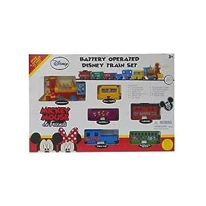 Amazon Com Disney Mickey Mouse Train Set Toys Amp Games