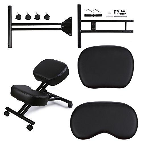 DRAGONN Ergonomic Kneeling Chair, Adjustable Stool For