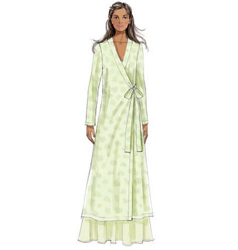 Amazon.com: Butterick Patterns B5963 Misses Robe, Top, Gown, Pants and Bag Sewing Templates, Size E5 (14-16-18-20-22): Arts, Crafts & Sewing