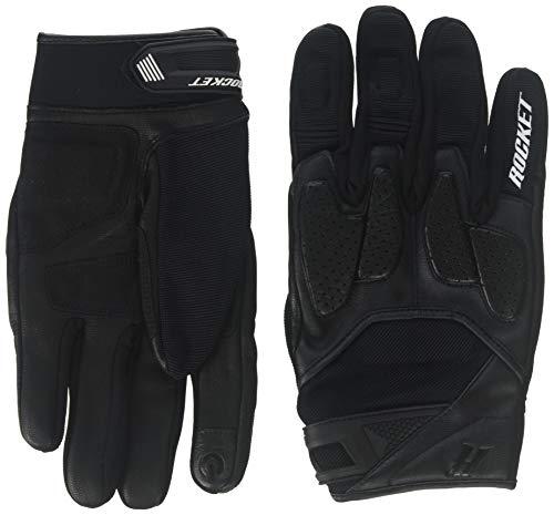 (Joe Rocket Atomic X Men's Motorcycle Riding Gloves (Black/Black, XX-Large))
