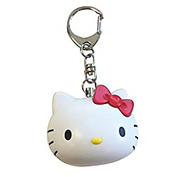 Hello Kitty Personal Alarm Keychain - Safety Device - 140 db - Very Loud