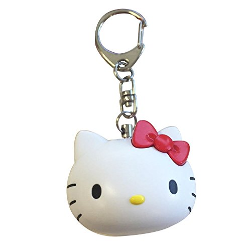 Hello Kitty Personal Alarm Keychain - Safety Device - 140 db - Very Loud by Warehouse 151