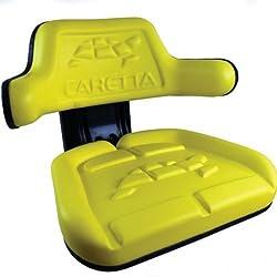 Caretta Seat Assembly - Grammer Style Vinyl Yellow