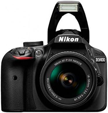 Nikon D3400 - Kit de cámara réflex (con AFP DX 18-55 mm no VR, 55 ...