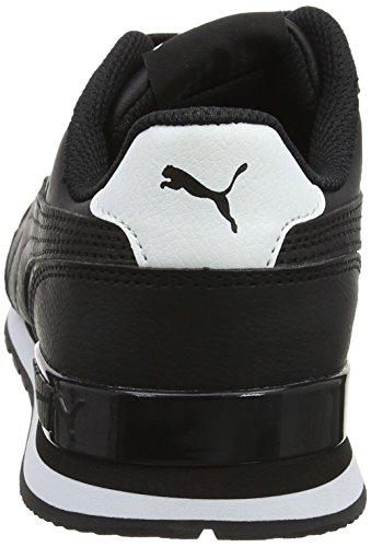 Puma Unisex-Erwachsene St Runner V2 Full L Sneaker Schwarz (Puma Black)