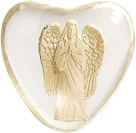 AngelStar 8734 Serenity Heart Faith Angel Worry Stone 1-1//2-Inch