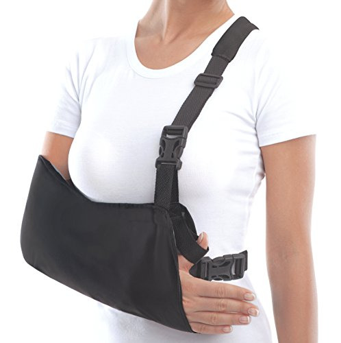 TOROS-GROUP Arm Support Sling Shoulder Immobilizer - Medium Black
