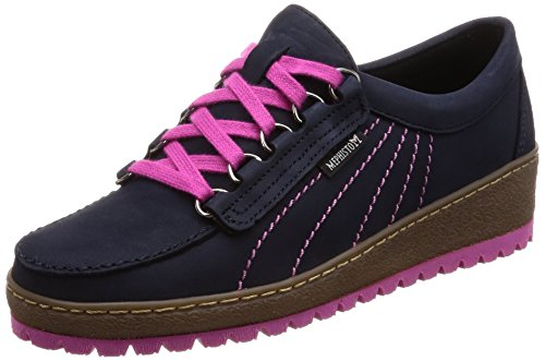 Azul Womens Lady Leather Shoes Maya Blue Mephisto 855 0qwAOUnp