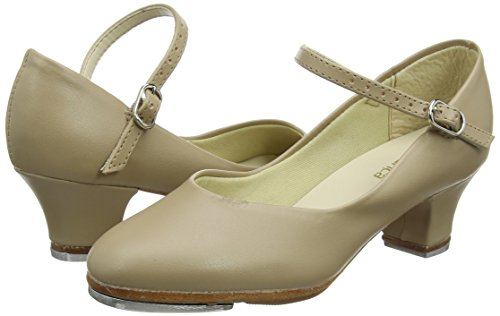 Así Que Danca Ta55 Buckle Strap 1.5 Heel Tap Shoe