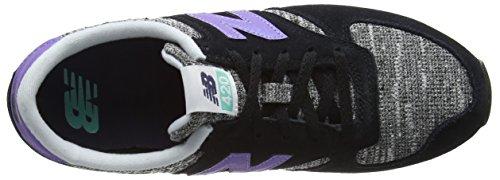 New Balance Women's Wl420kic-420 Training Running Shoes, Multicolour Multicolor (Black/Poolside 913)