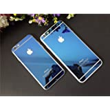 AE Tempered Glass BLUE Front and Back Screen Protector for Apple iPhone 6 (BLUE)