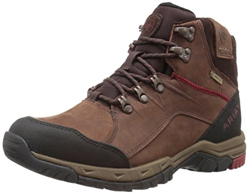 Ariat Men's Skyline Mid GTX Outdoor Boot, Dark Chocolate, 9 D US