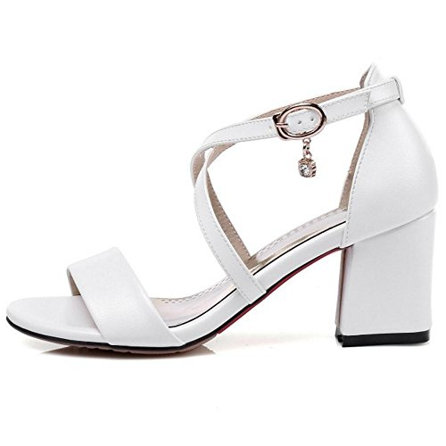 Sangle Sandales White Lori Taoffen En Zwox4p Femmes Croisee gp8qvnvX