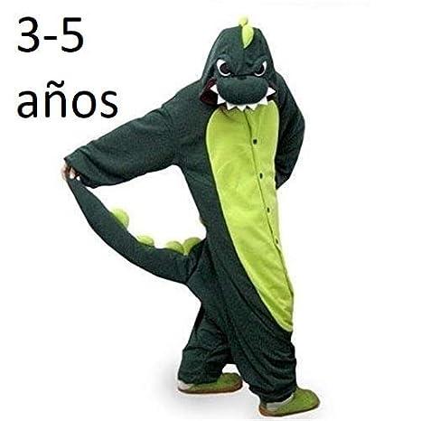 a272861d12 KRAZY TOYS Pijama Animal Entero Unisex para Niños como Ropa de Dormir-Traje  de Disfraz