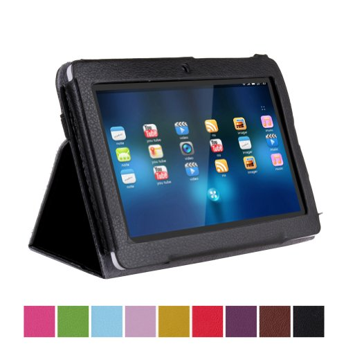ieasysexy Leather pu Slim Fit Folio Stand Case Cover Only for 7 inch Android Tablet Protective Cover Case for 7