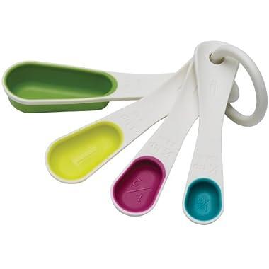 Chef'n SleekStor Nesting Spoons, Trend Color Set