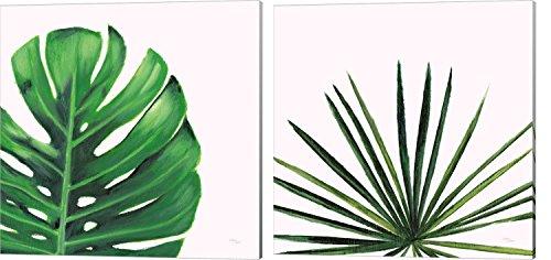 Statement Palms by Wellington Studio, 2 Piece Canvas Art Set