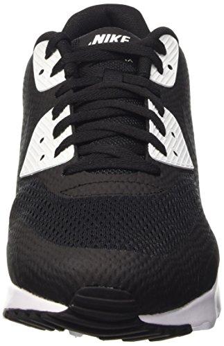 Nike Air Max 90 Ultra Essential, Zapatillas de Running para Hombre, Weiß Negro / Gris / Blanco (Black / Anthracite-White)