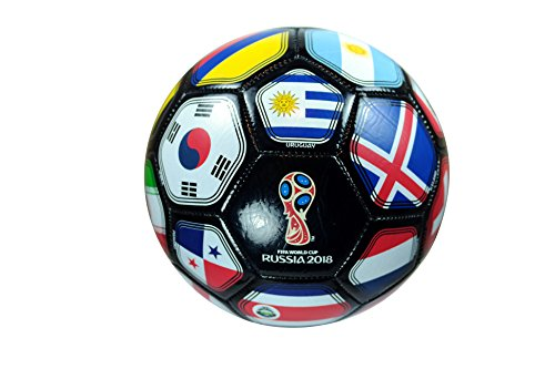 FIFA Official Russia 2018 World Cup Official Licensed Size 5 Ball (Nine Cup)