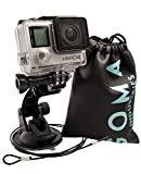 Suction Cup Gopro Car Mount for Hero7 Hero6 Hero5 Hero4 All Action Cameras and camcorders AKASO EK7000 OSMO Action SJcam SJ4000