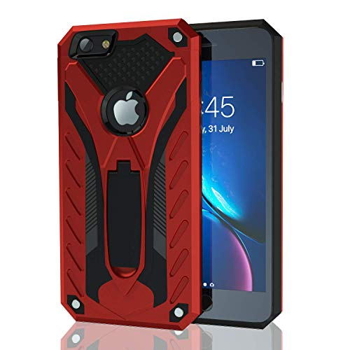 Kitoo Designed for iPhone 6 Plus Case/Designed for iPhone 6S Plus Case with Kickstand, Military Grade 12ft. Drop Tested…