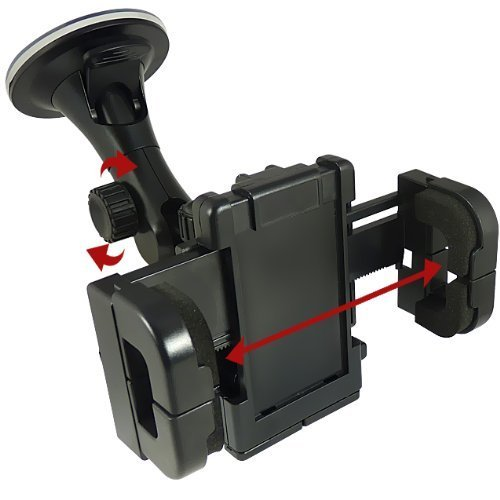 N4U Accessories Blackberry 9700 Bold Windscreen Mount Car Holder