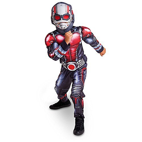 Ant Man Costume Disney (Disney Store Deluxe Ant Man Antman Light Up Costume Kids Size S Small 5 - 6 by Disney)
