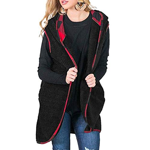 Vest Cardigan Coat HAALIFE◕‿ Women Sleeveless Casual