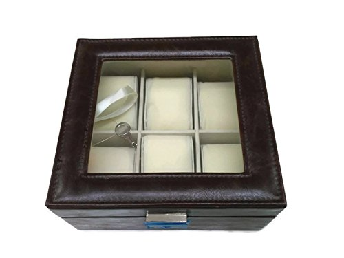 Caja relojero 6 relojes