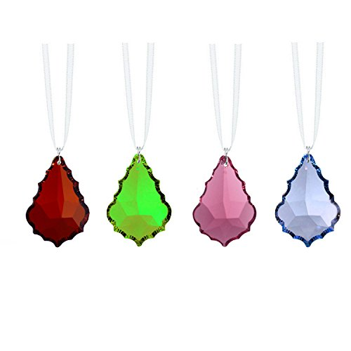 (Swarovski Strass Crystal Prisms 4 Pcs Colorful Crystal Sun Catcher Ornaments Package Deal)