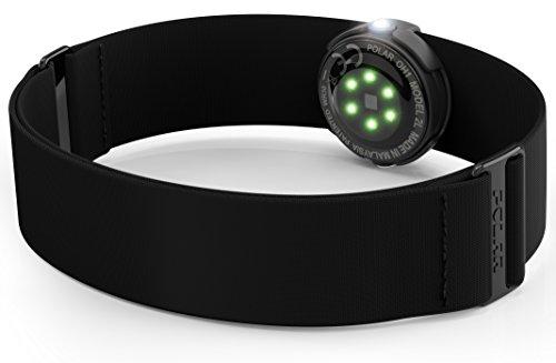 Polar (pora-ru) [Japan genuine] oh1Heart Rate Sensor 92066148Black Medium-XXL  (Goggles Polar)