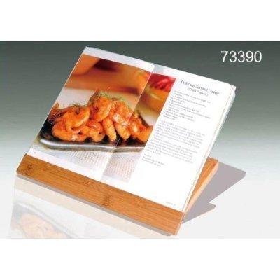 (Creative Home Exotic Natural Bamboo Cookbook Holder, Natural)