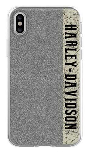 Harley-Davidson Glitter H-D Script iPhone X Flexible Phone Shell, Black 7918
