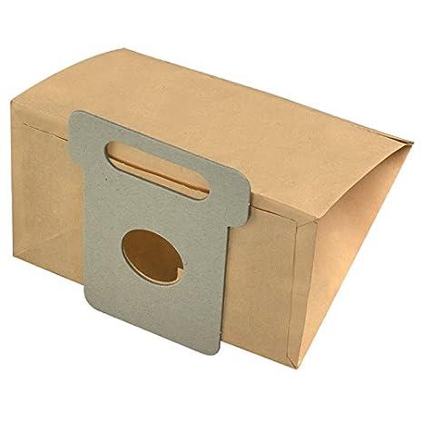 M417K filtro 8 x Bolsas de papel para aspiradora Moulinex ...