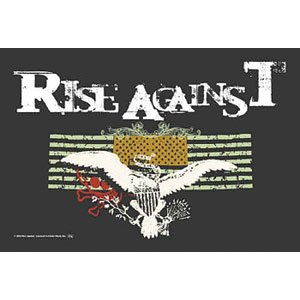 - Rise Against Fabric Poster Flag