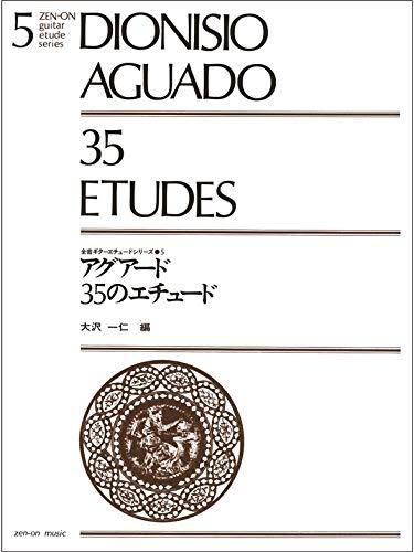 Dionisio Aguado: 35 Etudes para guitarra, partitura de música ...