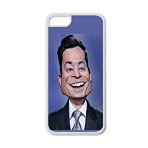 Generic Soft Great Back Phone Cover For Guys Custom Design With Jimmy Fallon For Apple Iphone 5C Choose Design 3