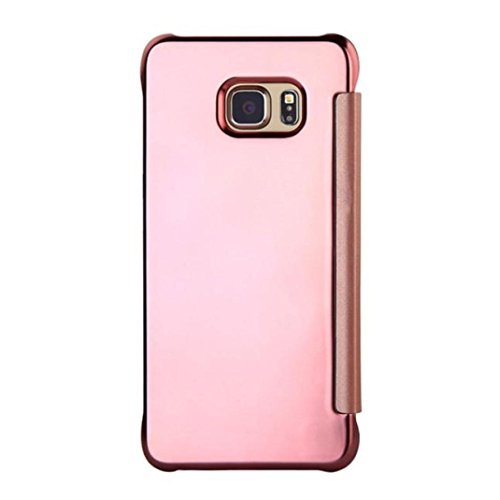 Elaco with Card Wallet Flip Stand Leather Protective Cover Case for Samsung Galaxy S7/S7 Edge