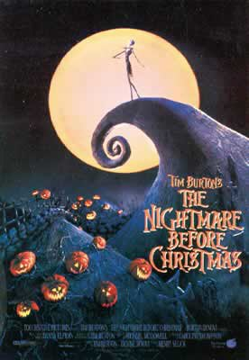 Resultado de imagem para the nightmare before christmas movie poster