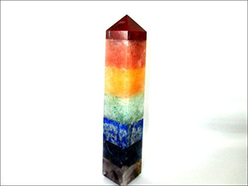 (Jet A++ Chakra Bonded Tower Obelisk Jumbo Wand Energized Charged Cleansed Programmed Pure Genuine Stick Free Booklet Jet International Crystal Therapy Balancing Energy Reiki Image is JUST A Reference )
