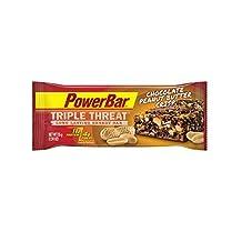Power Bar Triple Threat Bars - Chocolate Peanut Butter Crisp - 15 ct by Powerbar