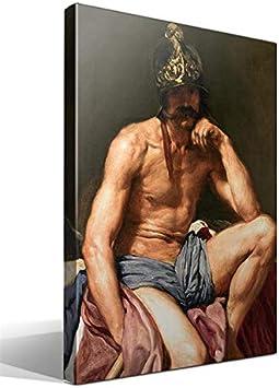 Cuadro Canvas El Dios Marte de Diego Rodríguez de Silva y Velázquez