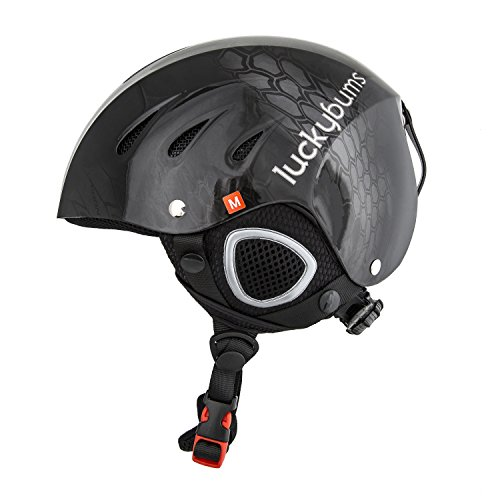 Lucky Bums Snow Sport Helmet for Skiing and Snowboarding (Glossy Kryptek Typhoon, Large)